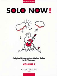 Solo Now! Vol.1 available at Guitar Notes.