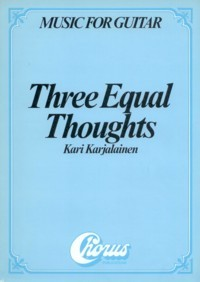 Three Equal Thoughts available at Guitar Notes.