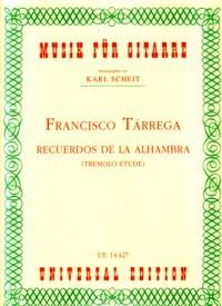 Recuerdos de Alhambra(Scheit) available at Guitar Notes.