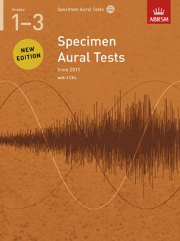 Specimen Aural Tests: Grade 1-3 available at Guitar Notes.