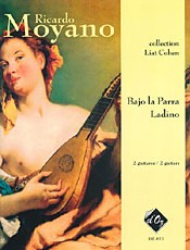 Bajo la parra; Ladino available at Guitar Notes.