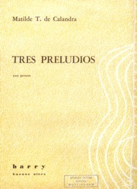 Tres Preludios available at Guitar Notes.