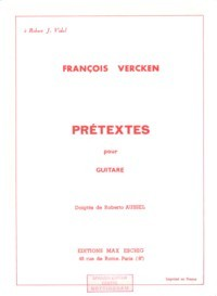 Pretextes(Aussel) available at Guitar Notes.