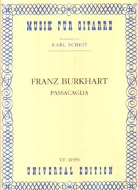 Passacaglia available at Guitar Notes.