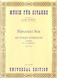 Les Folies d'Espagne, op.15a(Scheit) available at Guitar Notes.