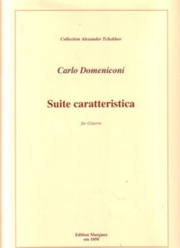 Suite caratteristica, op.71 available at Guitar Notes.