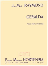 Geralda available at Guitar Notes.