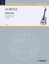 Asturias(Ragossnig) available at Guitar Notes.