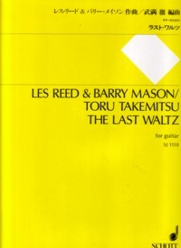 The Last Waltz(Takemitsu) available at Guitar Notes.