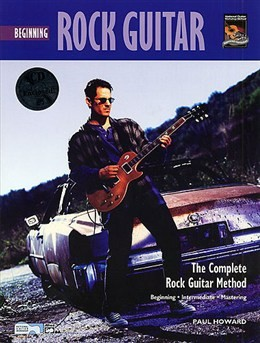 Beginning Rock Guitar available at Guitar Notes.