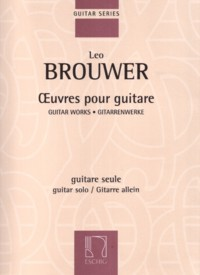 Guitar Works of Leo Brouwer available at Guitar Notes.