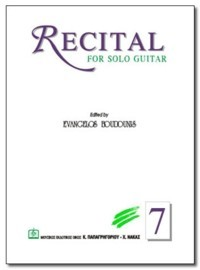 Recital no.7 available at Guitar Notes.