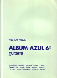 Album Azul: Vol.6 available at Guitar Notes.