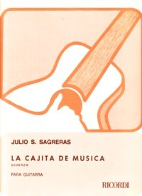 La cajita de musica, scherzo available at Guitar Notes.