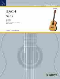 Suite, BWV1006A(Ragossnig) available at Guitar Notes.