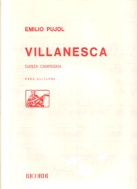 Villanesca, danza campesina available at Guitar Notes.