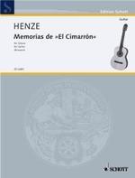 Memorias de El Cimarron available at Guitar Notes.