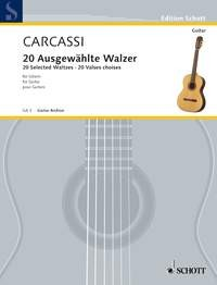 20 Selected Waltzes available at Guitar Notes.