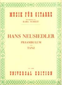 Preambulum und Tanz(Scheit) available at Guitar Notes.