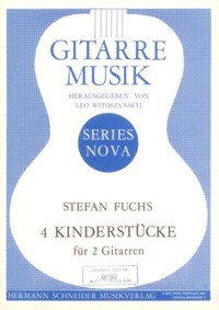 4 Kinderstucke(Witoszynskyj) available at Guitar Notes.