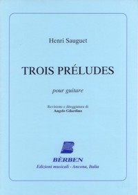 Trois Preludes available at Guitar Notes.