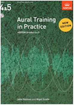 Aural Training in Practice Grades 4-5 (no CD) available at Guitar Notes.
