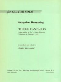 Three Fantasias(Kennard) available at Guitar Notes.