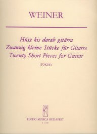 Twenty Short Pieces op.27 available at Guitar Notes.