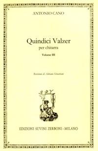 Quindici Valzer (Sebastiani) available at Guitar Notes.