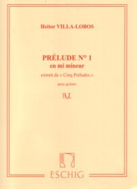 Prelude no.1 in e-min available at Guitar Notes.