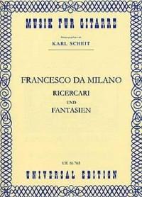 Ricercari & Fantasias(Scheit) available at Guitar Notes.