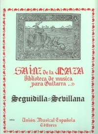 Seguidilla, sevillana available at Guitar Notes.
