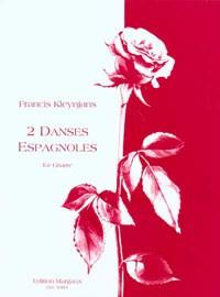 Deux Danses Espagnoles, op.147 available at Guitar Notes.