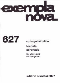 Toccata; Serenade available at Guitar Notes.