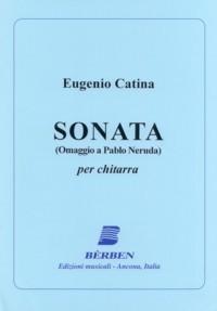 Sonata (Omaggio a Pablo Neruda) available at Guitar Notes.