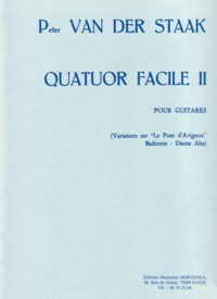 Quatour Facile II available at Guitar Notes.