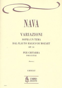 Variazioni sopra un tema di Mozart,op.34(Martino) available at Guitar Notes.