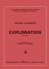 Exploration(Gilardino) available at Guitar Notes.