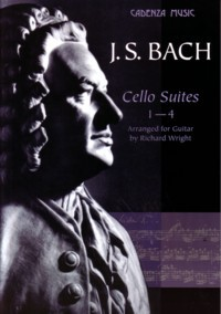Cello Suites 1-4 (Wright) available at Guitar Notes.