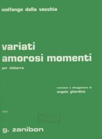 Variati amorosi momenti available at Guitar Notes.