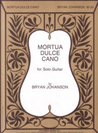 Mortua Dulce Cano available at Guitar Notes.