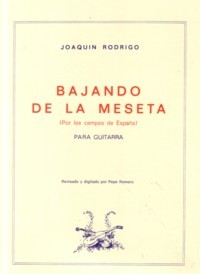 Bajando de la Meseta available at Guitar Notes.