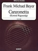 Canzonetta available at Guitar Notes.