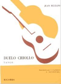Duelo Criollo, tango(Sinopoli) available at Guitar Notes.