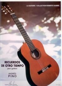 Recuerdos de otro tiempo available at Guitar Notes.