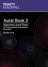 Aural Tests, Book 2 (Grade 6-8) to 2016 available at Guitar Notes.