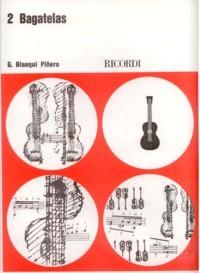 2 Bagatelas available at Guitar Notes.