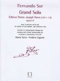 Grand Solo op.14 (Porro) available at Guitar Notes.