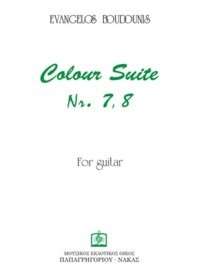 Colour Suites no. 7 & 8 available at Guitar Notes.