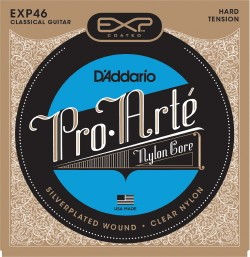 Pro Arte: EXP46: Coated Silver/Hard Tension available at Guitar Notes.